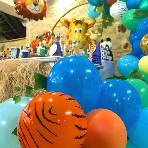 Baloni sa motivom tigra