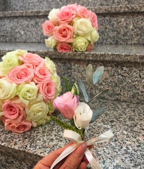 Bidermajeri i cvetić za mladoženju