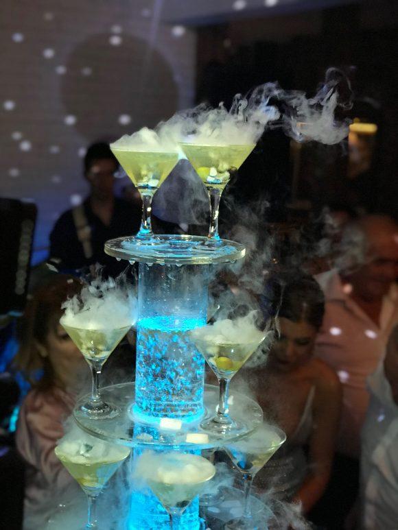 Sampanjac fontana sa casama suvi led
