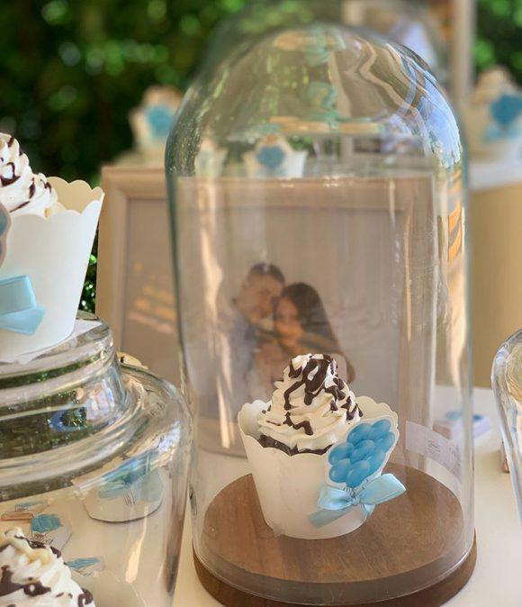 Mafin sa šlagom za dekoraciju slatki sto